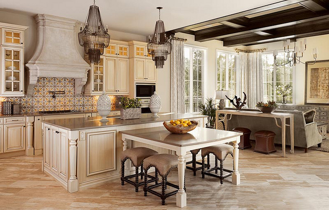 Stunning photo tour of issa homes casa di lusso at for House kitchen model